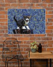 Cat love 36x24 Poster poster-landscape-36x24-lifestyle-20