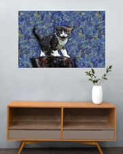 Cat love 36x24 Poster poster-landscape-36x24-lifestyle-21
