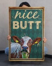 Cow Nice Butt 20x30 Gallery Wrapped Canvas Prints aos-canvas-pgw-20x30-lifestyle-front-24