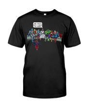 Thats How I Saved The World Jesus Superheros Classic T-Shirt front