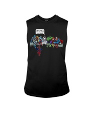 Thats How I Saved The World Jesus Superheros Sleeveless Tee thumbnail