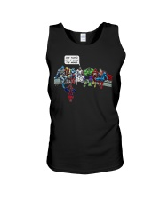 Thats How I Saved The World Jesus Superheros Unisex Tank tile