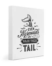 Even Mermaids Wash Their Tail 11x14 Gallery Wrapped Canvas Prints thumbnail