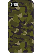 The Swedish M90 woodland camouflage Phone Case thumbnail