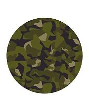 The Swedish M90 woodland camouflage Circle Coaster thumbnail