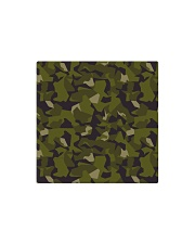 The Swedish M90 woodland camouflage Square Magnet tile