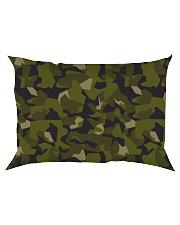 The Swedish M90 woodland camouflage Rectangular Pillowcase thumbnail