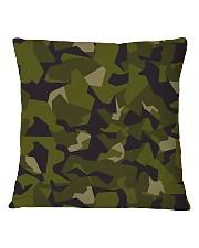 The Swedish M90 woodland camouflage Square Pillowcase thumbnail