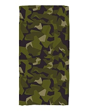 The Swedish M90 woodland camouflage Beach Towel thumbnail