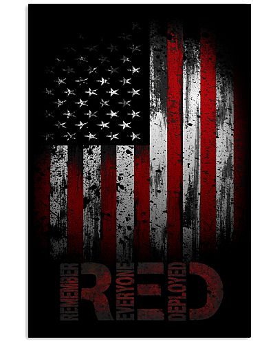 RED - Remember Everyone Deployed Poster