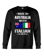 M in Australia with Italian parts Crewneck Sweatshirt thumbnail