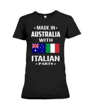 M in Australia with Italian parts Premium Fit Ladies Tee thumbnail