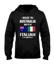 M in Australia with Italian parts Hooded Sweatshirt thumbnail