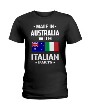 M in Australia with Italian parts Ladies T-Shirt thumbnail