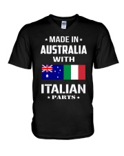 M in Australia with Italian parts V-Neck T-Shirt thumbnail