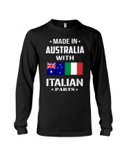 M in Australia with Italian parts Long Sleeve Tee thumbnail