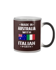 M in Australia with Italian parts Color Changing Mug thumbnail