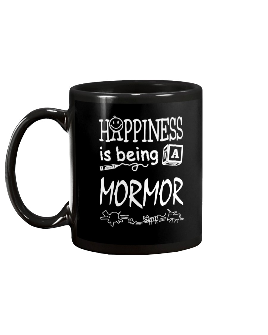 Happiness Is Being A Mormor Mug