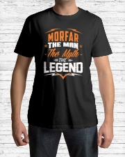 Morfar The Man - The Myth - The Legend Classic T-Shirt lifestyle-mens-crewneck-front-1