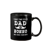 I have two titles Dad and Nonno Mug tile