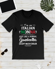 I'm An Italian Nonna Much Cooler Classic T-Shirt lifestyle-mens-crewneck-front-17