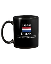 I speak Dutch what is your Superpower Mug back