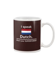 I speak Dutch what is your Superpower Mug tile