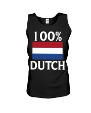 100 Percent Dutch Unisex Tank thumbnail