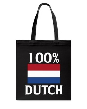 100 Percent Dutch Tote Bag thumbnail