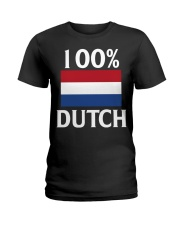 100 Percent Dutch Ladies T-Shirt thumbnail
