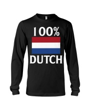 100 Percent Dutch Long Sleeve Tee thumbnail