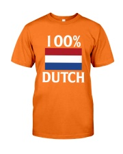 100 Percent Dutch Classic T-Shirt front