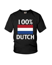 100 Percent Dutch Youth T-Shirt thumbnail