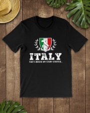 ITALY That's Where My Story Classic T-Shirt lifestyle-mens-crewneck-front-18