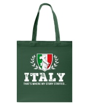ITALY That's Where My Story Tote Bag thumbnail