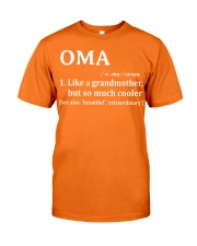 Oma - much cooler Classic T-Shirt thumbnail