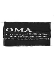 Oma - much cooler Cloth face mask thumbnail