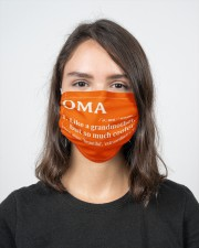 Oma - much cooler 2 Layer Face Mask - Single aos-face-mask-2-layers-lifestyle-front-16