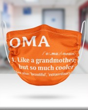 Oma - much cooler 2 Layer Face Mask - Single aos-face-mask-2-layers-lifestyle-front-27