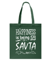 HAPPINESS IS BEING A SAV-TA Tote Bag thumbnail
