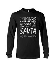 HAPPINESS IS BEING A SAV-TA Long Sleeve Tee thumbnail