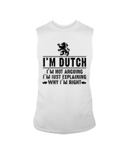 I'm Dutch - I'm not arguing Sleeveless Tee tile