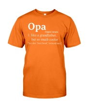 OPA - MUCH COOLER Classic T-Shirt front