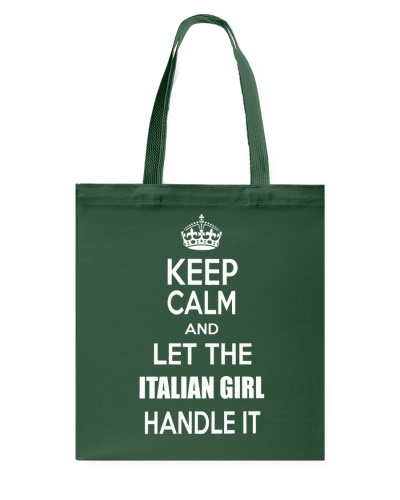 Keep calm and let the Italian girl handle it