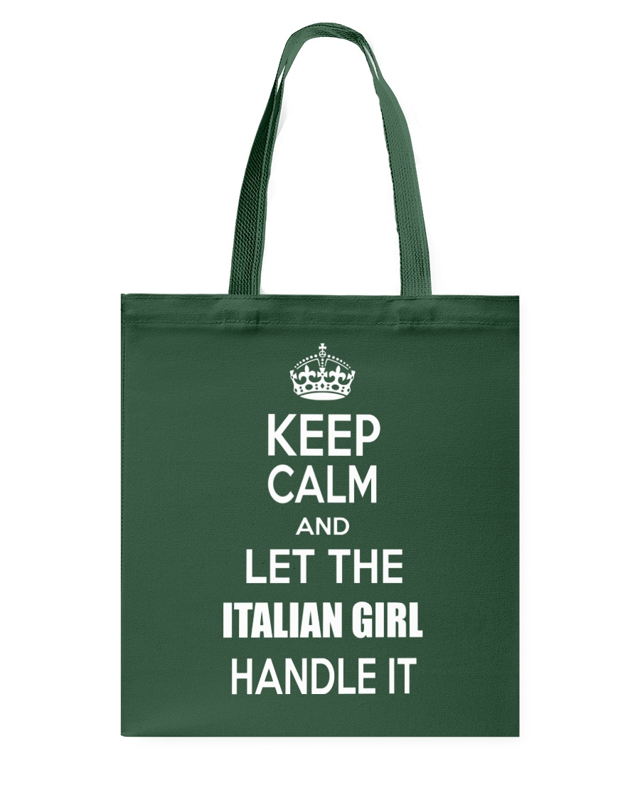 Keep calm and let the Italian girl handle it Tote Bag