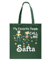 My Favorite People Call me Safta-Mug Tote Bag thumbnail