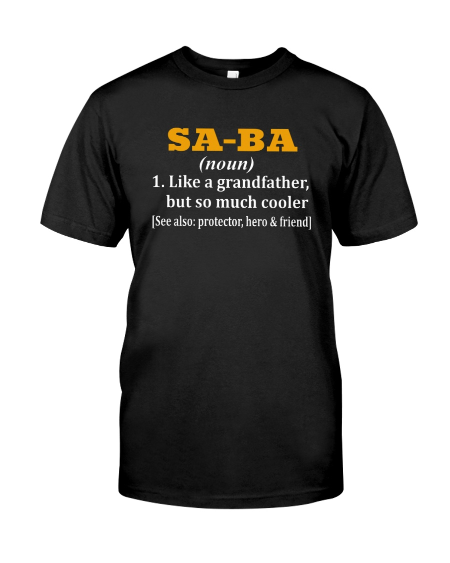 SA-BA noun Classic T-Shirt