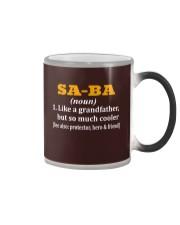 SA-BA noun Color Changing Mug thumbnail