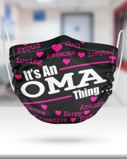 Oma thing 2 Layer Face Mask - Single aos-face-mask-2-layers-lifestyle-front-27