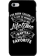 SAVTA is my favorite name Phone Case thumbnail